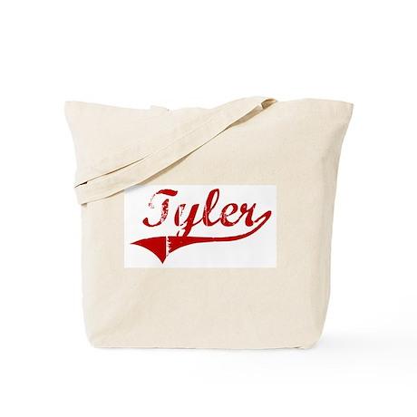 Tyler (red vintage) Tote Bag