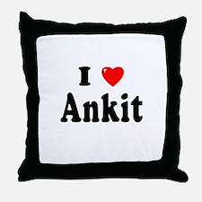 ANKIT Throw Pillow