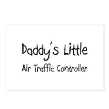 Daddy's Little Air Traffic Controller Postcards (P