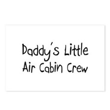 Daddy's Little Air Cabin Crew Postcards (Package o
