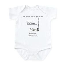 MREs for Bears Infant Bodysuit
