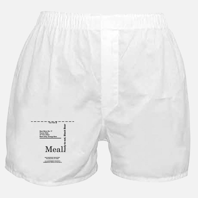 MREs for Bears Boxer Shorts