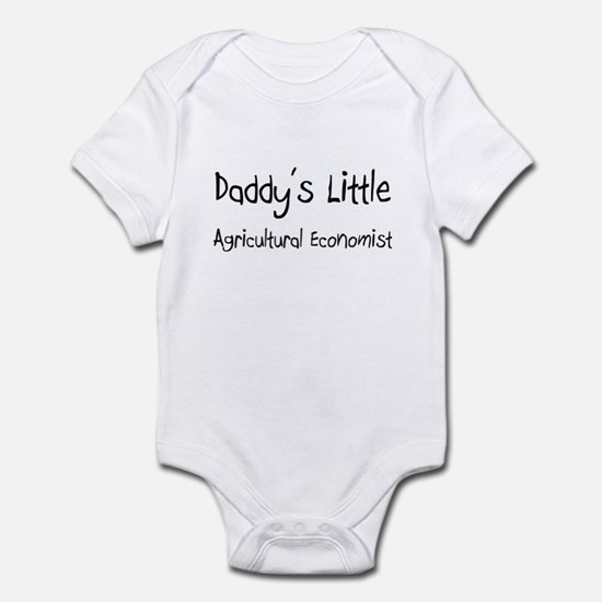 Daddy's Little Agricultural Economist Infant Bodys