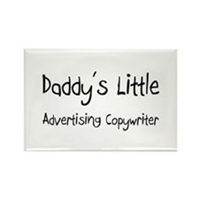 Daddy's Little Advertising Copywriter Rectangle Ma