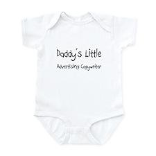 Daddy's Little Advertising Copywriter Infant Bodys