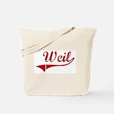 Weil (red vintage) Tote Bag
