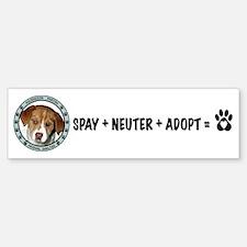 Ascension Parish Animal Shelter Bumper Bumper Bumper Sticker