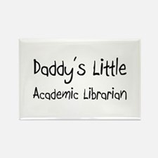 Cute Academic library Rectangle Magnet