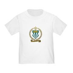 AUBERT Family Crest Toddler T-Shirt