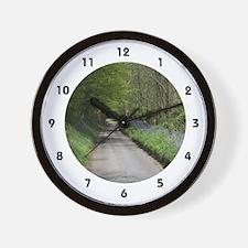Spring Lane Wall Clock