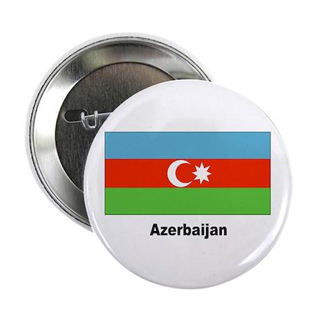 Azerbaijan Flag Button