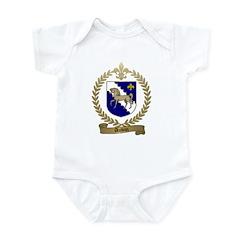 AUBIN Family Crest Infant Creeper