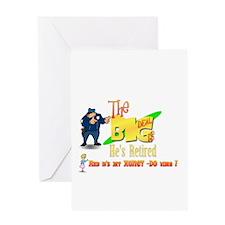 Top Cop Honey-Do list.' Greeting Card