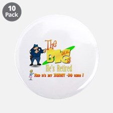 "Top Cop Honey-Do list.' 3.5"" Button (10 pack)"