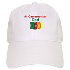 #1 Cameroonian Dad Baseball Cap