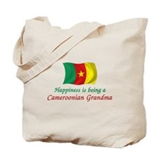 Happy Cameroon Grandma Tote Bag
