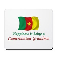 Happy Cameroon Grandma Mousepad