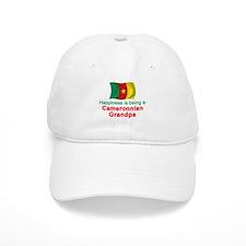 Happy Cameroon Grandpa Baseball Cap