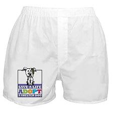 Adopt a Pitbull Boxer Shorts