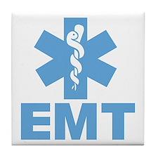 Blue EMT Tile Coaster