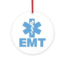 Blue EMT Ornament (Round)