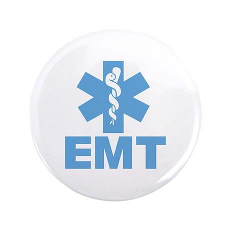 "Blue EMT 3.5"" Button (100 pack)"