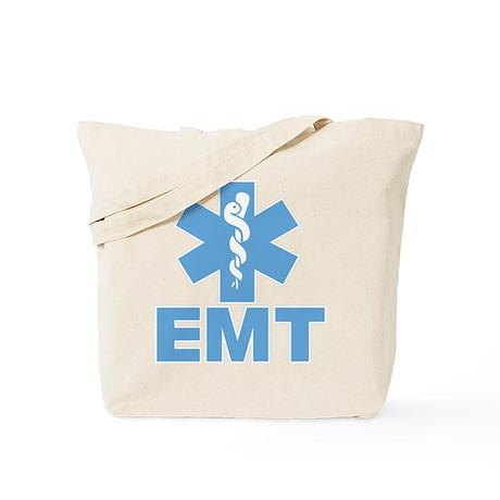 Blue EMT Tote Bag