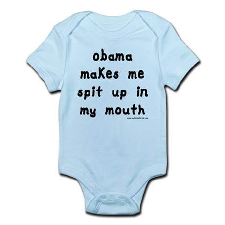 Obama Spit Up Infant Bodysuit