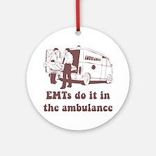 EMT Ambulance Ornament (Round)