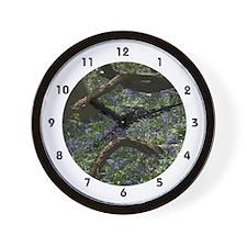 Bluebell Carpet Wall Clock
