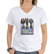 Adopt a Shelter Dog Shirt