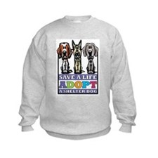 Adopt a Shelter Dog Sweatshirt