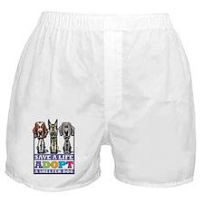 Adopt a Shelter Dog Boxer Shorts