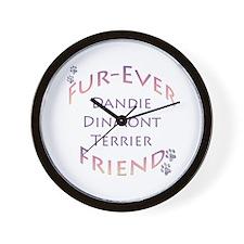 Dandie Furever Wall Clock