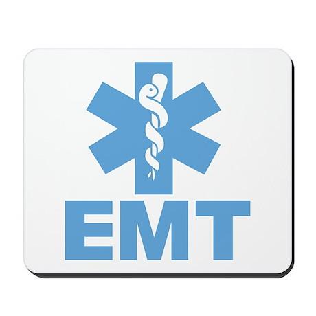Blue EMT Mousepad