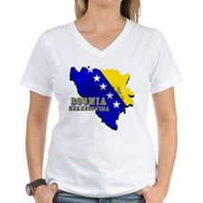 Flag Map of Bosnia Shirt