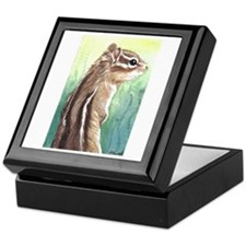 Keepsake Box chipmunk art