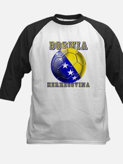 Bosnian Football Kids Baseball Jersey