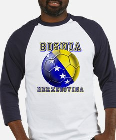 Bosnian Football Baseball Jersey