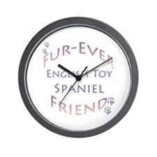 English Toy Furever Wall Clock