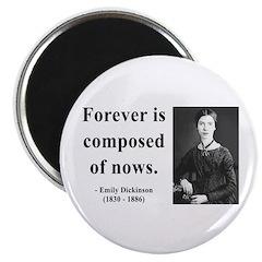 Emily Dickinson 3 Magnet