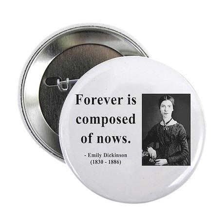"""Emily Dickinson 3 2.25"""" Button"""