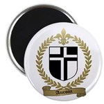 AUCOIN Family Crest Magnet