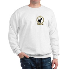 AUCOIN Family Crest Sweatshirt