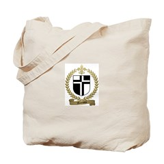 AUCOIN Family Crest Tote Bag