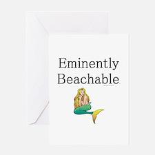 Eminently Beachable Greeting Card