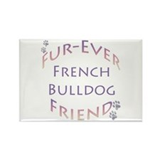 Frenchie Furever Rectangle Magnet (10 pack)