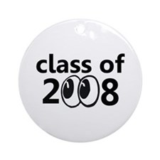 Class of 2008 Eyeballs Ornament (Round)