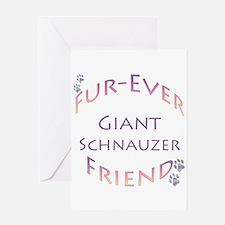 Schnauzer Furever Greeting Card