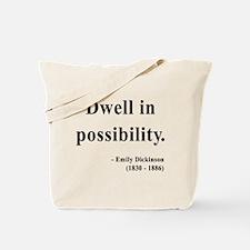 Emily Dickinson 2 Tote Bag